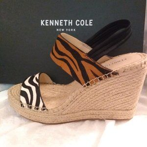 Kenneth Cole Olivia Espadrille Sandal Wedges